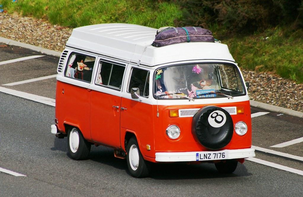 VW Caravanette | LNZ 7176....saw this smart looking camper ...