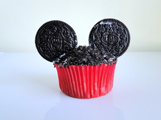 Mickey Mouse birthday cupcake! | by caseyplusthree