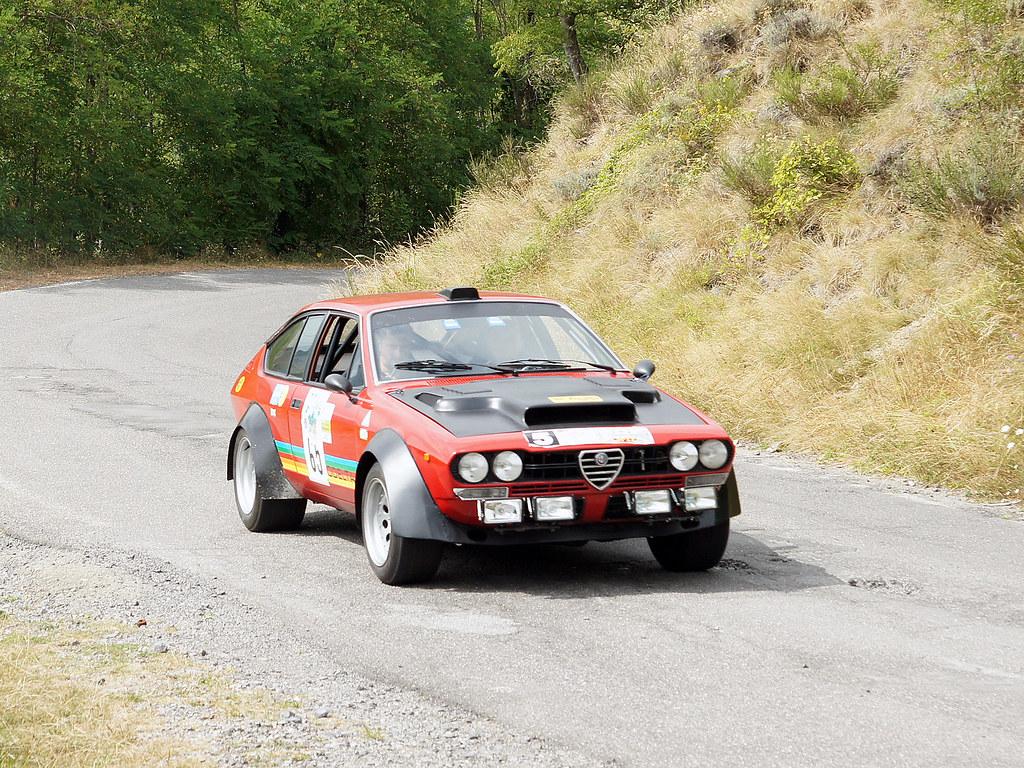 Alfa Romeo GTV Turbodelta - 1979 | 6° Rally Raduno di ...