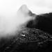 Machu Picchu -Montaña Vieja- con niebla