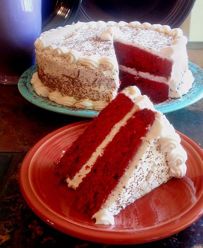 Dusted Cake Red Velvet