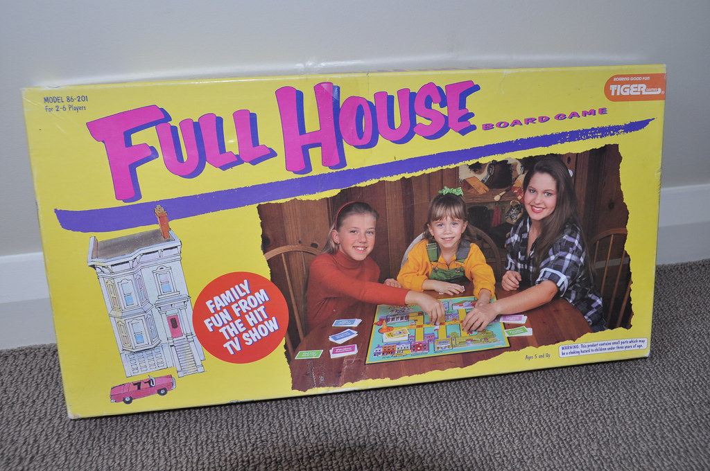 Full house board game full house tv show board game box - House of tv show ...