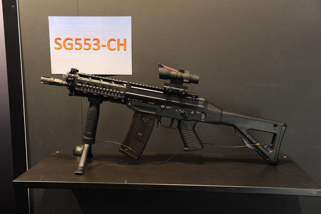 Side By Side For Sale >> Sig Sauer 553-CH Left Side | From gunsforsale.com/manufactur… | Flickr