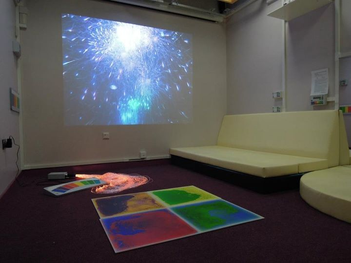 Northgate School Arts College Sensory Studio Mike Ayres