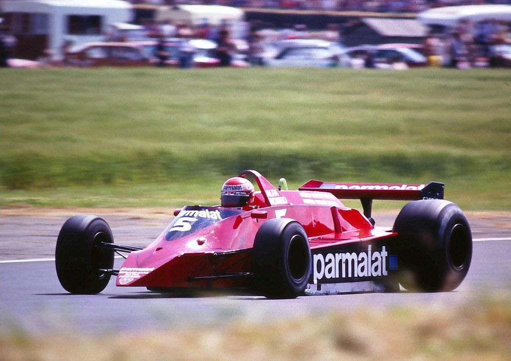 Niki Lauda Brabham BT48 1979 British Grand Prix Silve