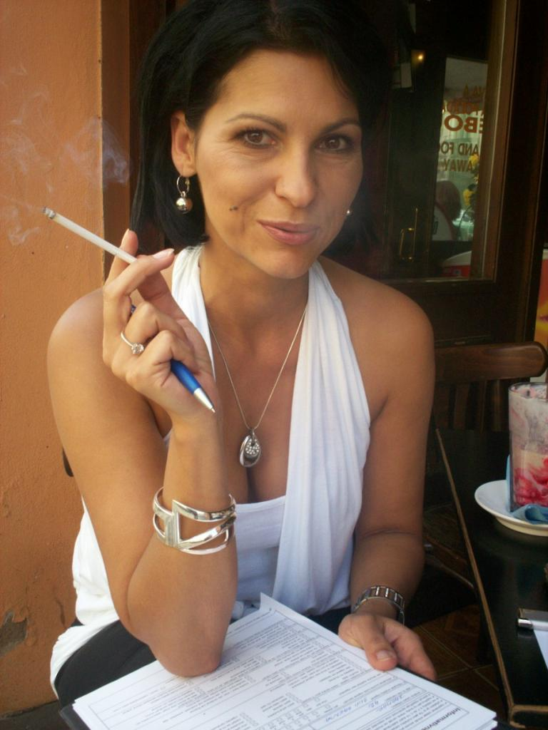 Are not latina girl smoking fetish