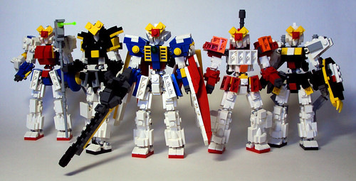 Gundam Wing Group Shot | by OrangeKNight