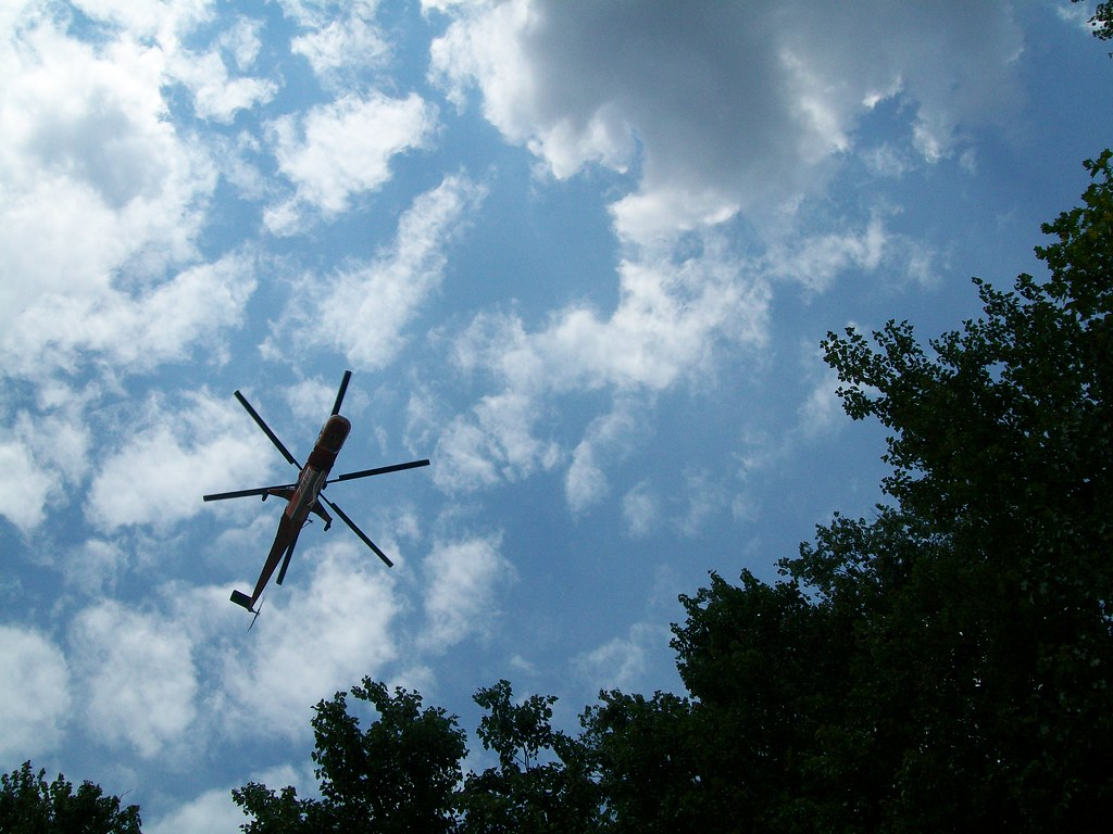 Asterix Heli Suffolk Va August 2011 From Below A