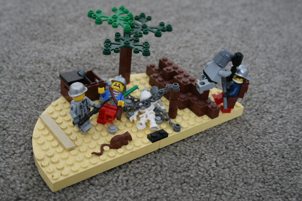 Lego ww1 1917 battle of ypres french infantry are being for Siege lego france