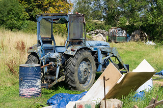 An Old Tractor - Lehaunstown Road | by infomatique