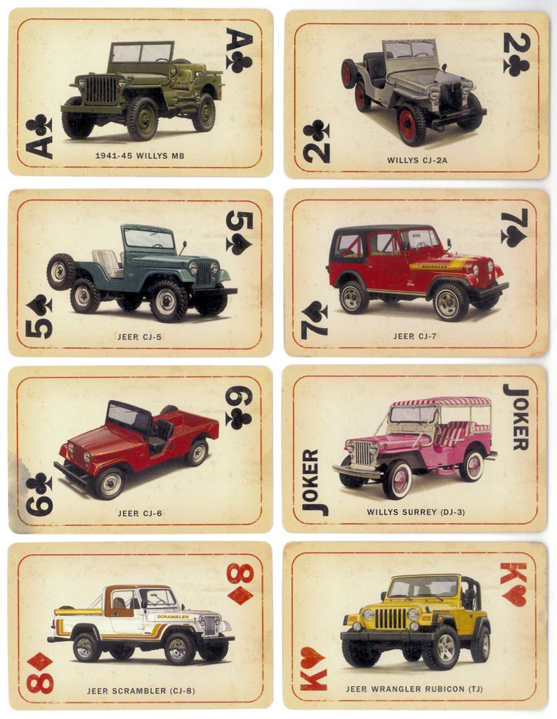 ... Jeep Cards Mixed Deck   by lee.ekstrom
