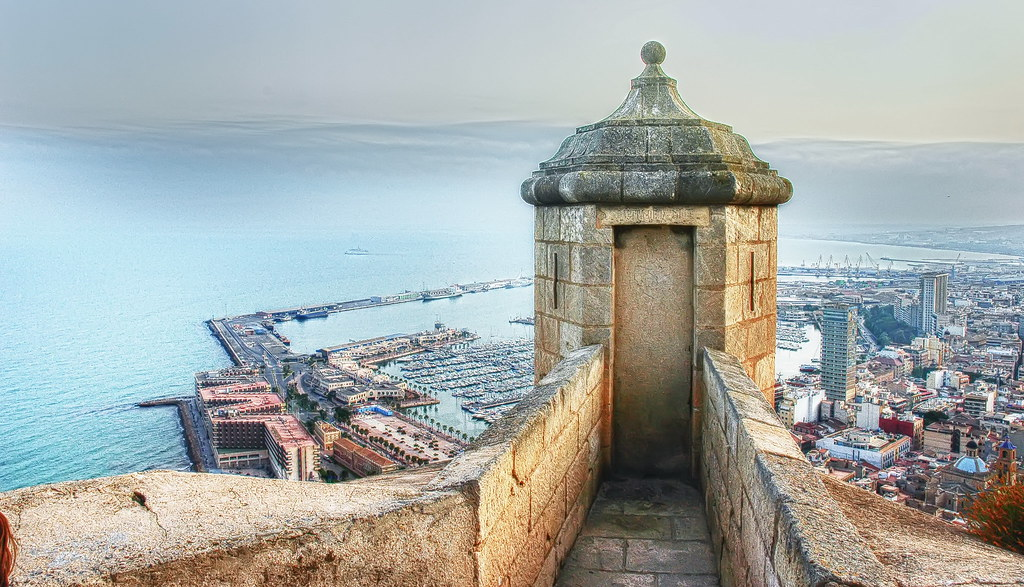 Castillo De Santa Barbara Alicante Nikon D70 Jorge S