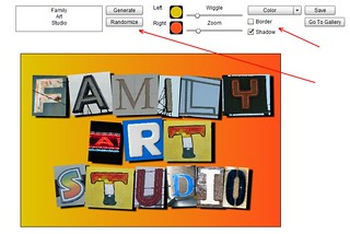 New Feature for Photo Letter Art | by Family Art Studio