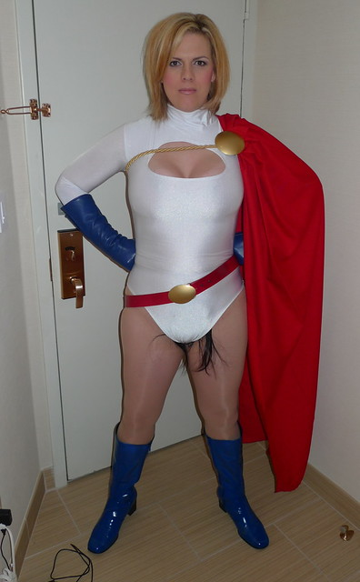 Work On Power Girl S Pubic Hair Of Steel Flickr Photo
