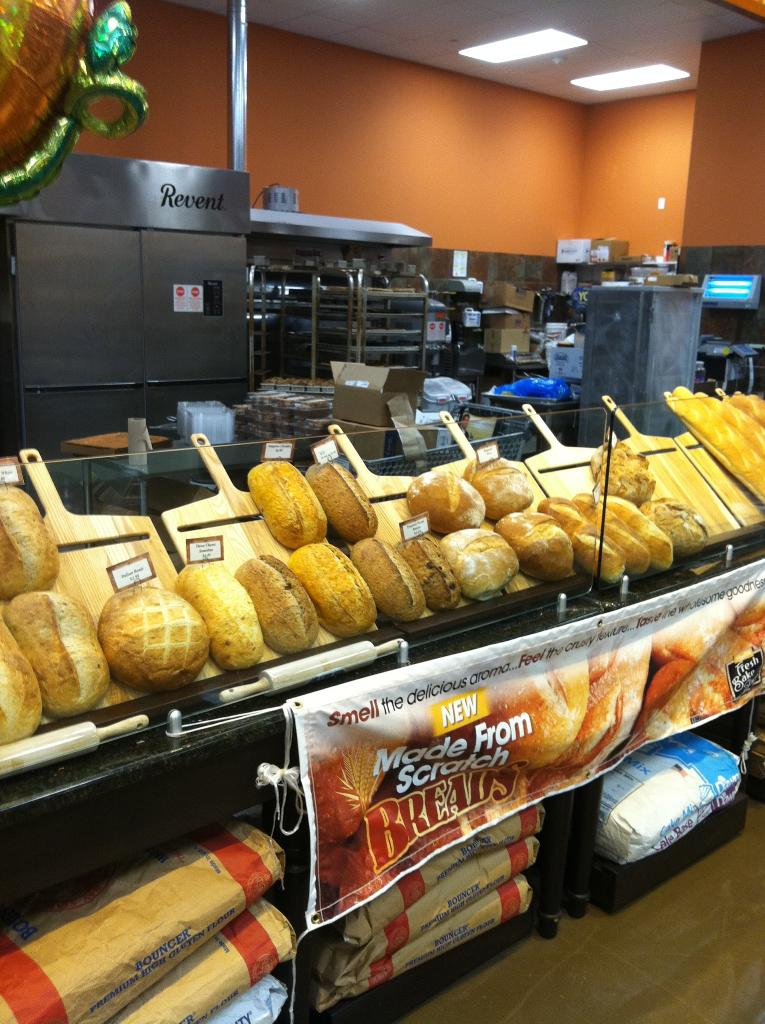 Wakefern Artisan Bread Display W Super Peels