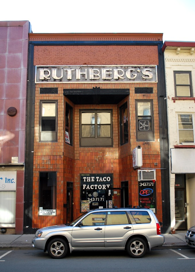 Middletown Ny: The Old Sign For Ruthberg's