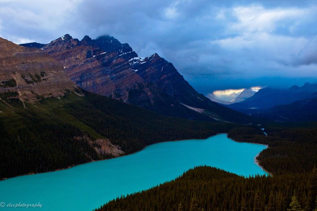 Peyto Lake, Banff National Park, Alberta, Canada | Peyto ...