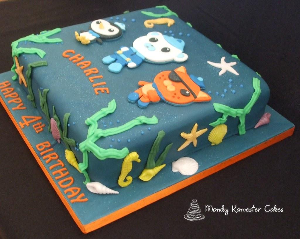 Octonauts Cake Sound The Octo Alert Chocolate Birthday