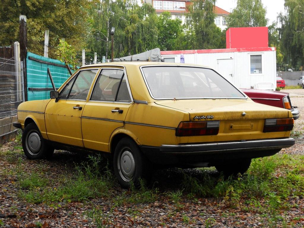 Audi 80 B1 1976 1978 Yellow Type 82 Transaxle Alias