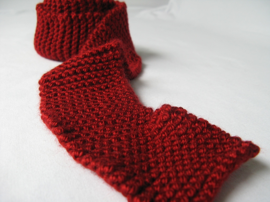 Knit Fashion Skinny Scarf - Cranberry This skinny knit sca? Flickr