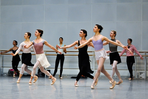 In rehearsals with Merrill Ashley and dancers of The Royal Ballet © ROH 2011 | by Royal Opera House Covent Garden