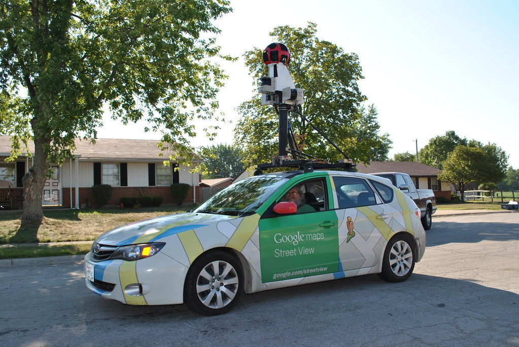 Google Maps Street View Car In Front Of My House. | Google ...