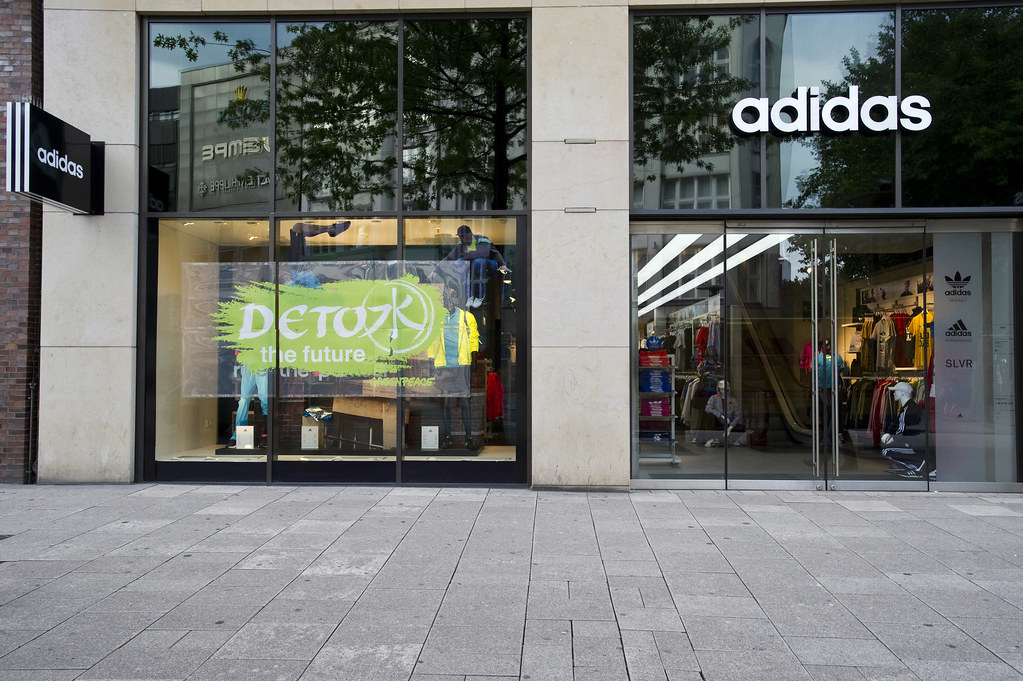 adidas boutique in hamburg