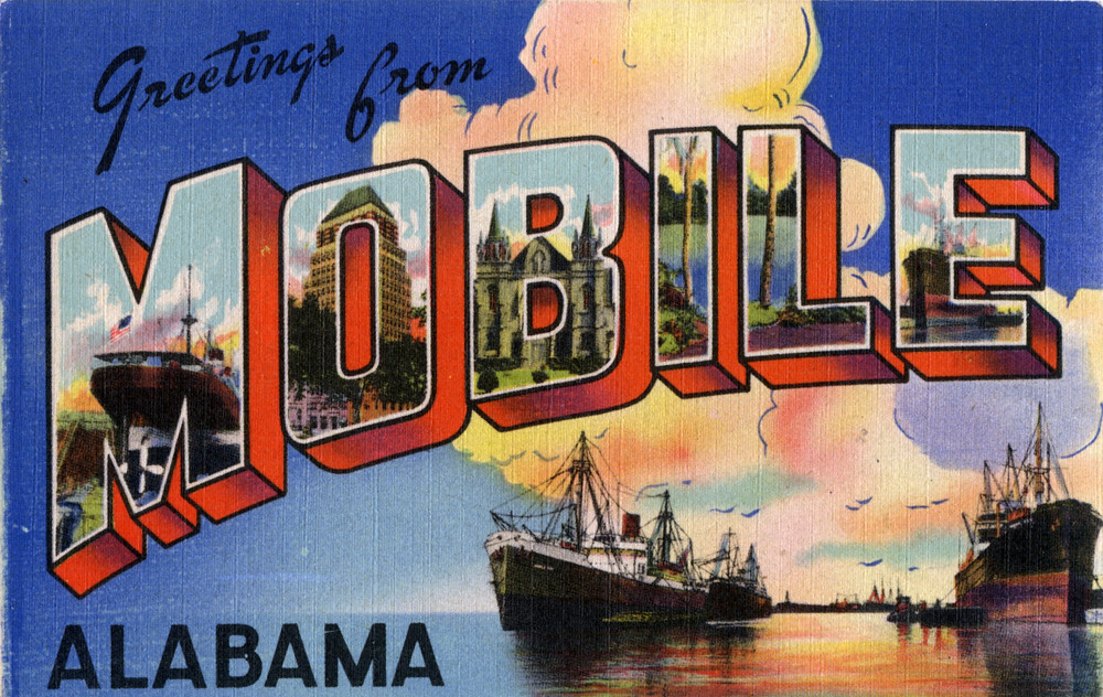 Greetings from mobile alabama large letter postcard flickr greetings from mobile alabama large letter postcard by shook photos m4hsunfo