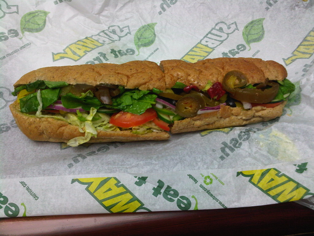 Image result for Veggie Delight Sub
