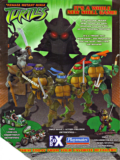Teenage Mutant Ninja Turtles 2003 Toys : Playmates toys teenage mutant ninja turtles quot it s a