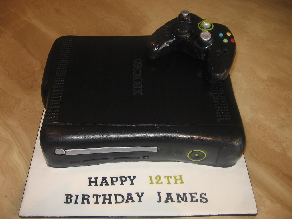 XBOX 360 BIRTHDAY CAKE Chocolate mud and chocolate ganache Flickr