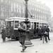 Street traffic in Paris in 1927
