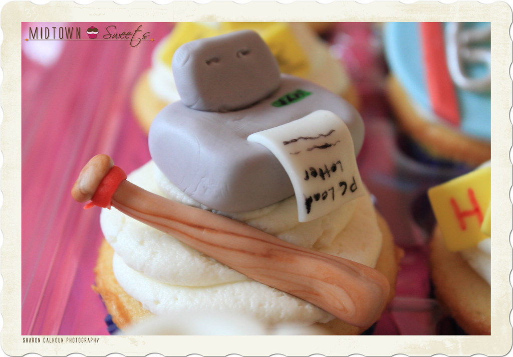 Office Space Cupcakes Printer Pc Load Letter Midtown Sweets