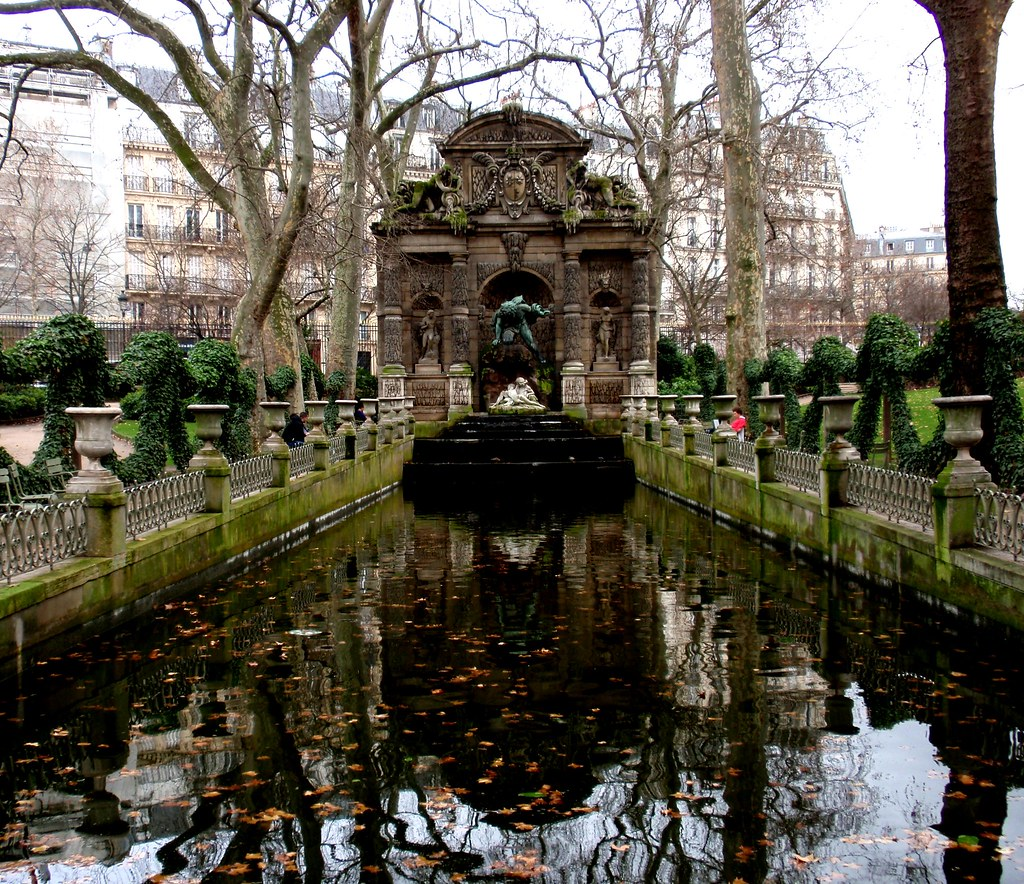 Medici Apartments: The Medici Fountain, Luxembourg Gardens