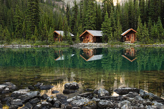 Cabins, Lake O'Hara - Yoho | by Laurent L.