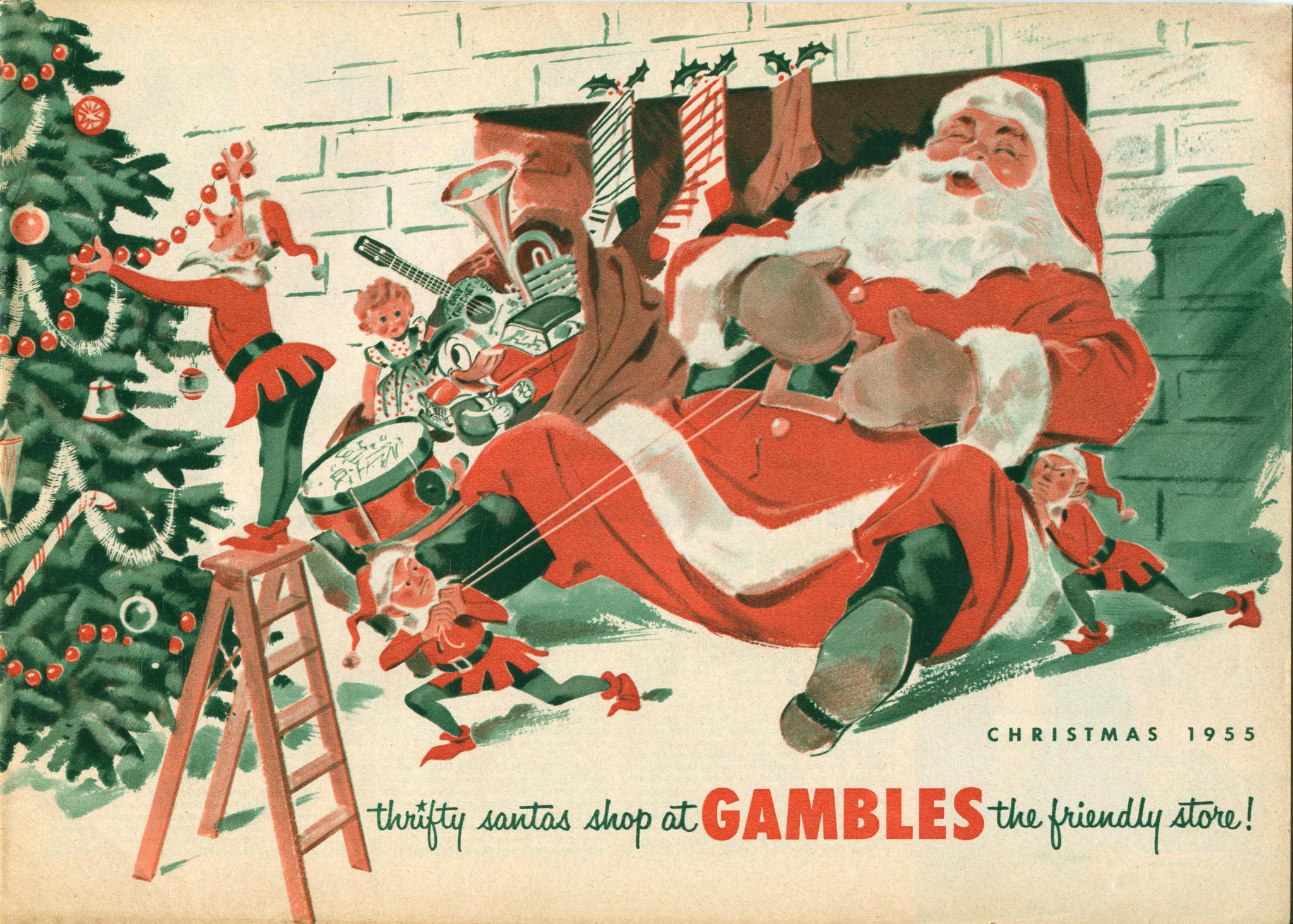 Gambles Christmas 1955 catalog