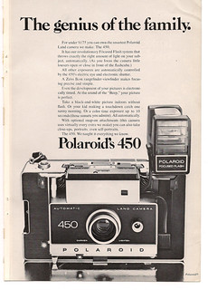 Polaroid 450 Ad | by The Retroist