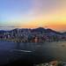 Sunset behind Hong Kong Island (Explored)