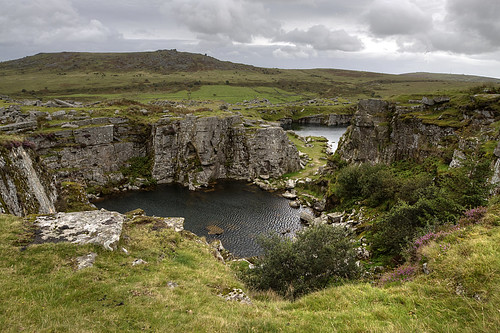 Disused quarry on Bodmin Moor | by rosiespoonerphotos