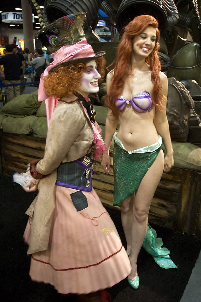 naked little mermaid cosplay