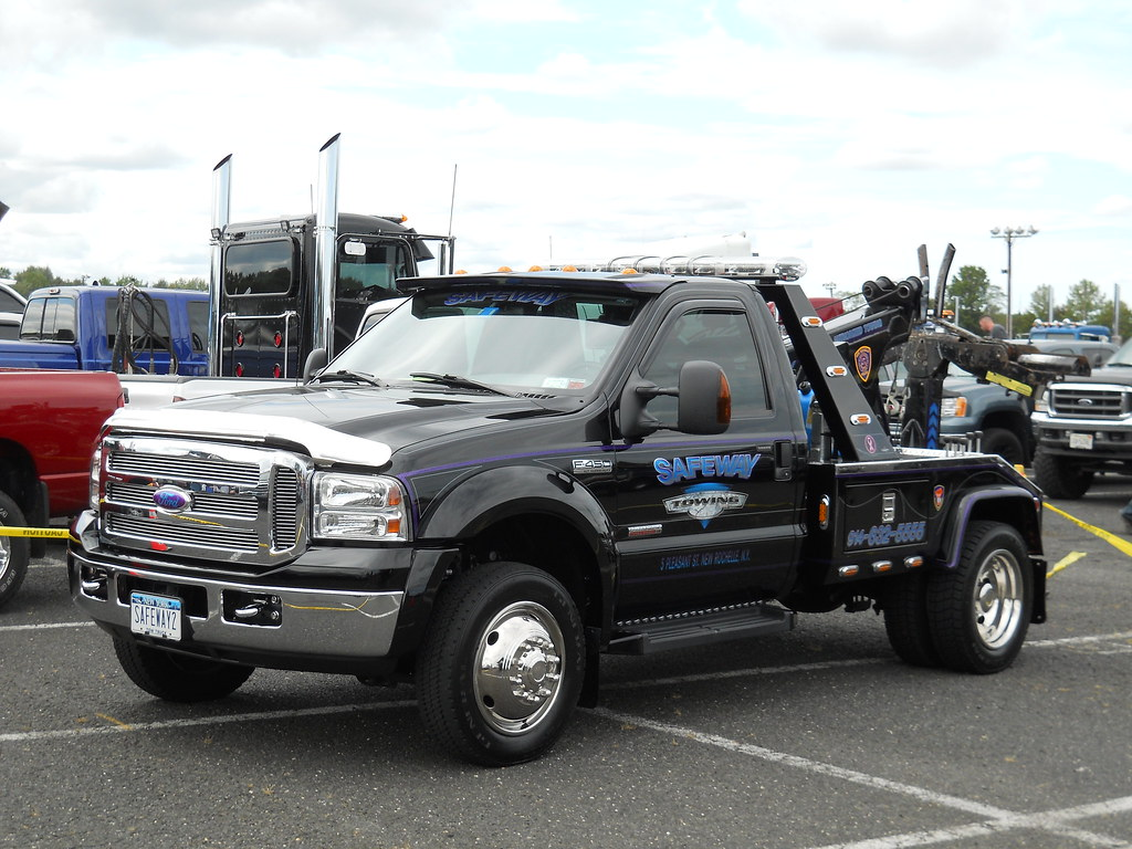 ford f 450 wrecker safeway towing new rochelle ny. Black Bedroom Furniture Sets. Home Design Ideas