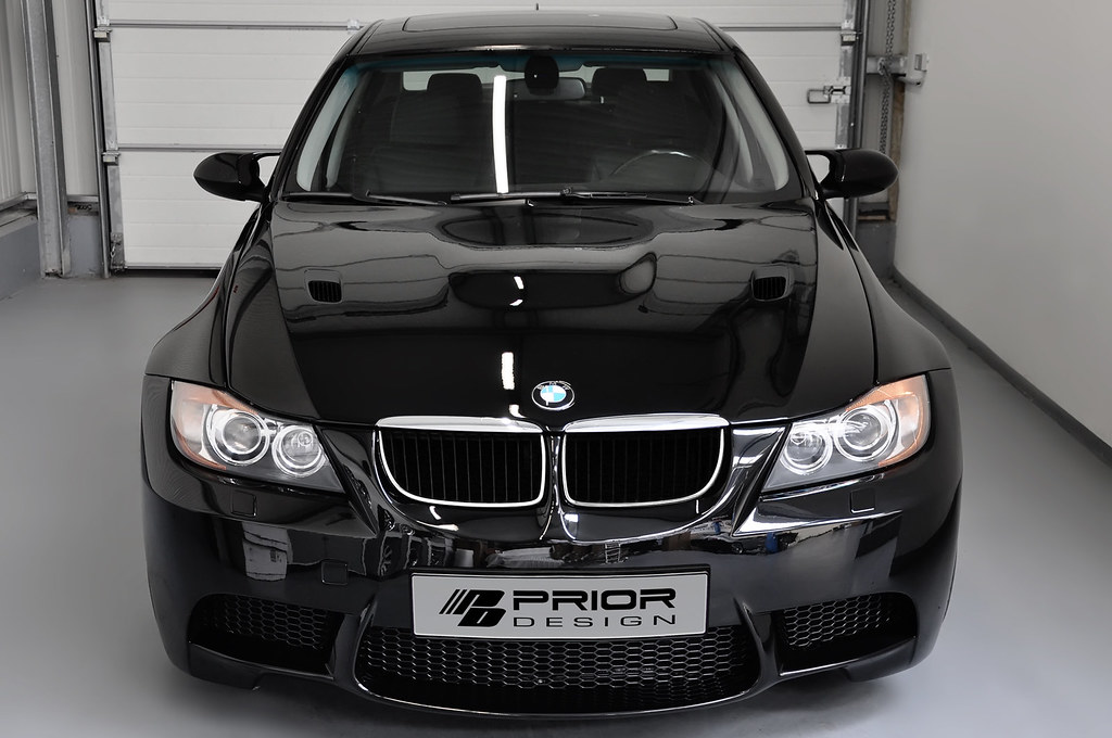 Bmw E90 3 Series Widebody M3 Conversion For Non M3 Hood Flickr
