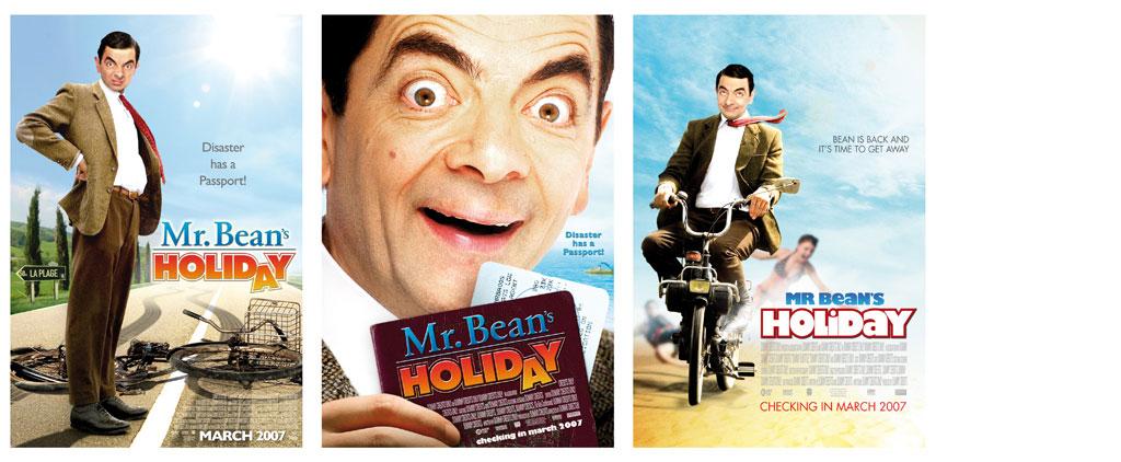 Movie Poster Design : Mr. Beanu0026#39;s Holiday : Graphic Design ...
