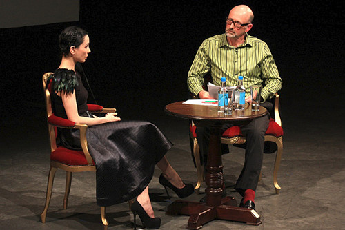 Principal of The Royal Ballet Tamara Rojo in conversation with writer Luke Jennings © ROH 2011 | by Royal Opera House Covent Garden