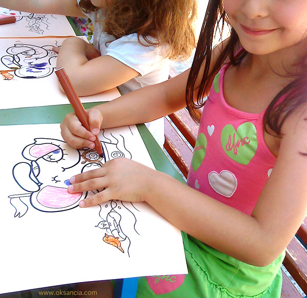 My Rondy The Elephant Coloring Pages In Action Sweet