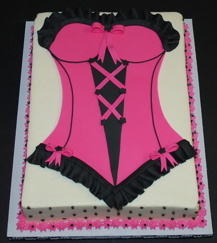 Bachelorette Party Lingerie Cake | by cjmjcrlm (Rebecca)