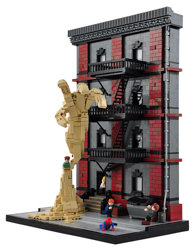 Spider man vs sandman this is the first of a series of for Custom build a house online