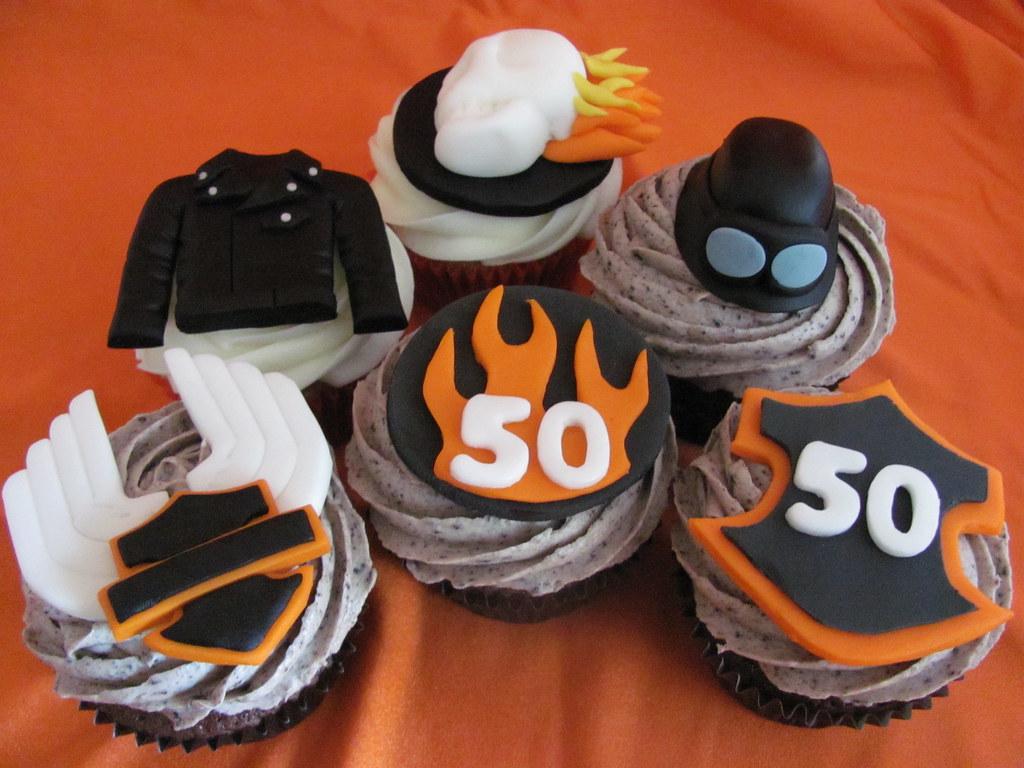 Harley Davidson Birthday Cake Decorations