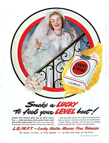 1949 - Smoke a Lucky To Feel Your Level Best | by clotho98