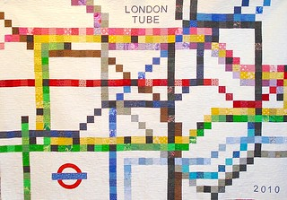 London Tube Quilt | by Cottilello